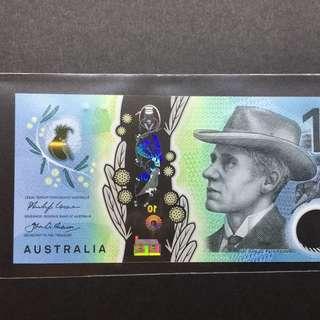 Australia 2017 First Prefix AA $10 polymer banknote Gem UNC