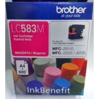 Brother Magenta Ink Cartridge LC583M