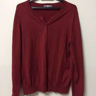 Uniqlo Sweater in Red