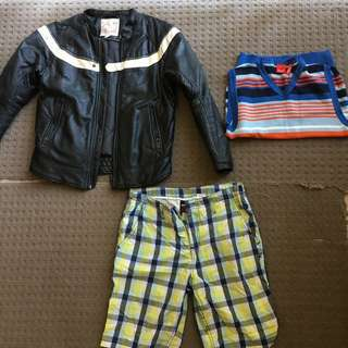 Miscellaneous boys' clothing SEND OFFERS