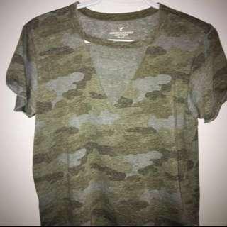 Camo Choker T-Shirt