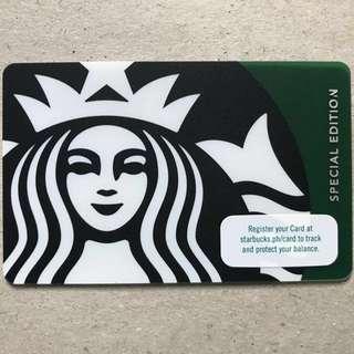 Starbucks card Green Siren 2017