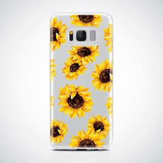 ⚜️SUNFLOWER SOFT CASE FOR SAMSUNG⚜️