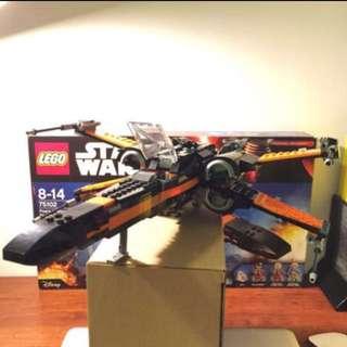 Lego X-Wing Poe Dameron ( original )