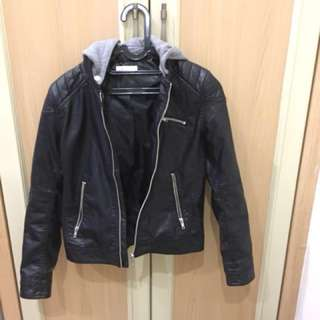 H&M Leather Jacket & Hoodie - Xmas Gift Idea