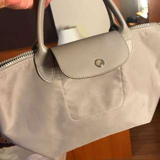 Long champ bag abu abu size s