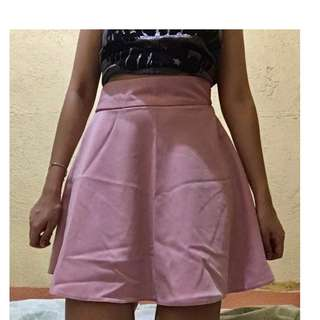 Highwaist Skater Skirt