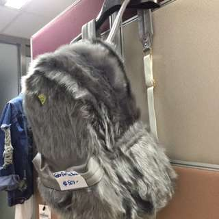 Joyrich Fluffy Fur Back Pack