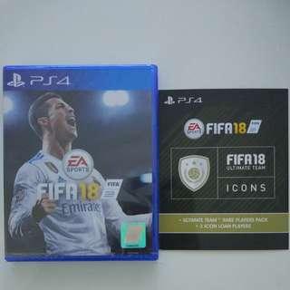 New PS4 FIFA 18
