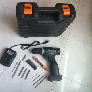 充電式電鑽 電批 電動螺絲批 三用電批 rechargeable electric drill screwdriver