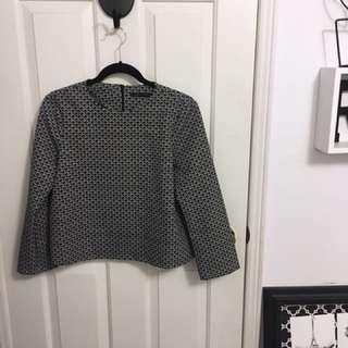 Zara patterned top