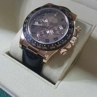 Rolex - 116515LN 皮帶朱古力888