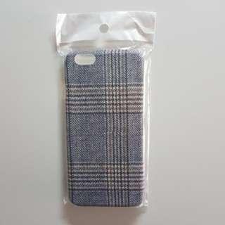 Iphone 6S手機殼硬殼冬日之選格仔襯衫一流