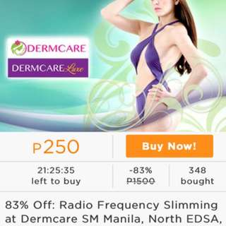 Dermcare RADIO FREQUENCY SLIMMING!!