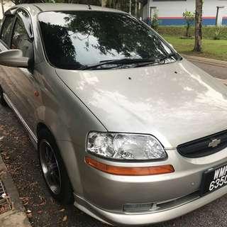 2004 Chevrolet Aveo 1.5 (A)