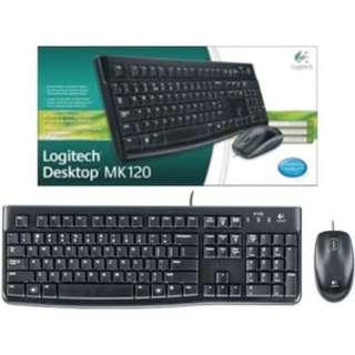 Mouse dan Keyboard Logitech MK120