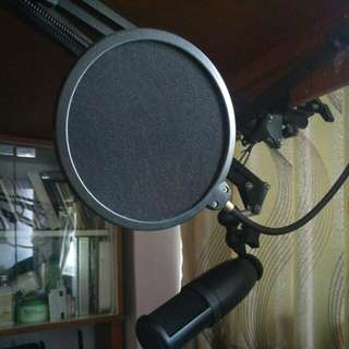 Condensed microphone