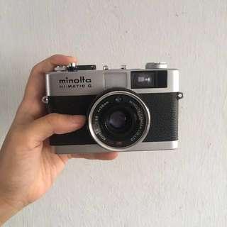 Minolta hi-matic G 35mm film camera