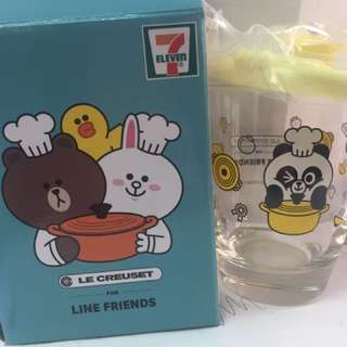 7-11 line friend 杯