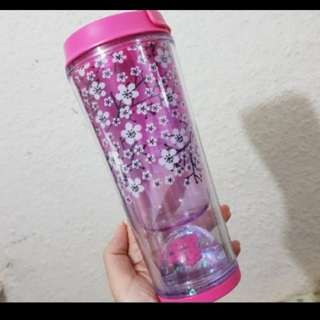 Starbucks Tumbler Sakura Movable flower