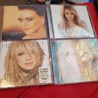 Hilary Duff CD's