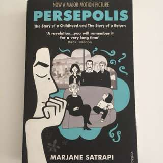 Persepolis I & II by Marjane Satrapi