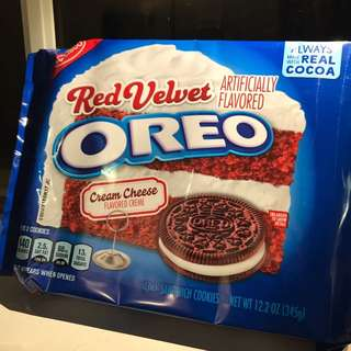🇺🇸美國入口RedVelvet芝士蛋糕OREO