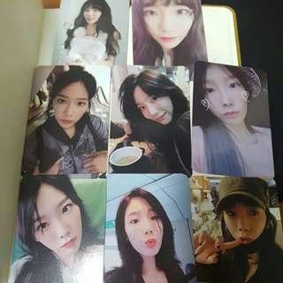Taeyeon photocard