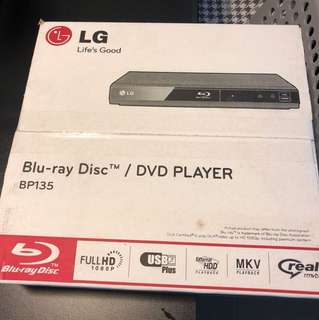 全新未開盒blue ray disc/DVD player