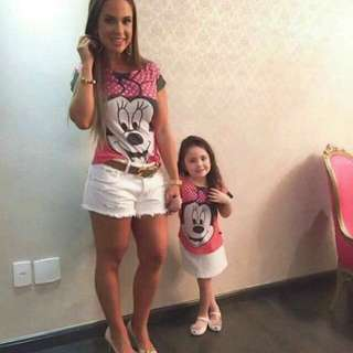 Mivky Mom N Daughter Set (Top Only)