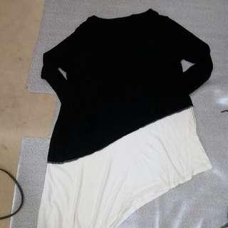 Zalora the iconic assymetrical tunic