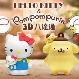 3D Hello Kitty 八達通