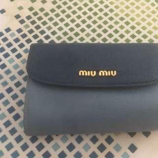 Miu miu wallet ( with card)