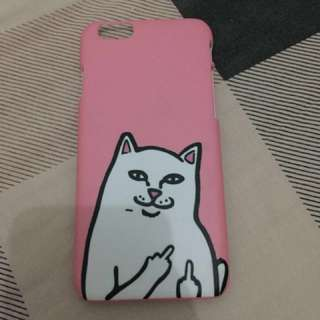Case Cat Middle Finger