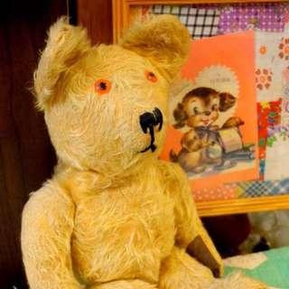古董英國傳統泰迪熊