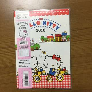 A6 Hello Kitty 2018 Planner