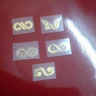INFINITE LOGO EMW STICKER