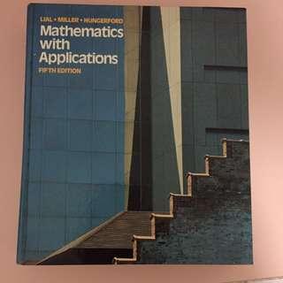 Mathematics with Applications (hard copy)