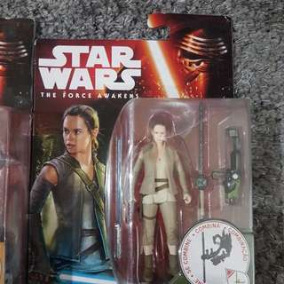 STARWARS 3.75 The Force Awakens Figs (Sealed)