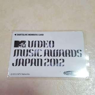 DartsLive Card Limited Edition Japan Music