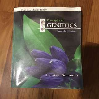 Principles Of Genetics (Fourth Edition)