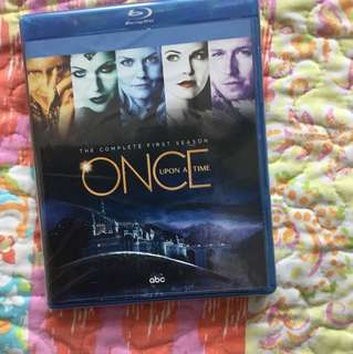 Once Upon A Time Season 1 BluRay (Sealed)