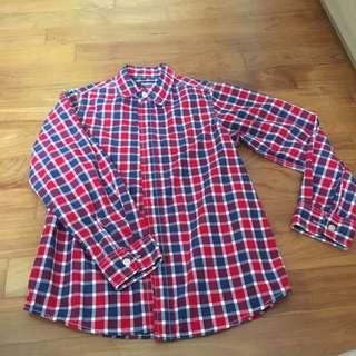 Oshkosh Checked Boy Shirt - 10 year old