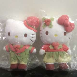 Hello Kitty Plush - (Kitty and Daniel Couple) Changi Airport
