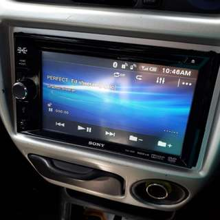 sony double din player