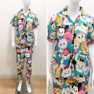 Piyama dewasa baju tidur motif