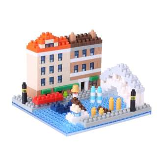 Capital Venezia Dell Acqua (Kawada Nanoblock NBH-092)
