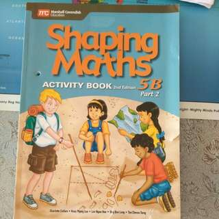 Shaping Maths Activity book 5B