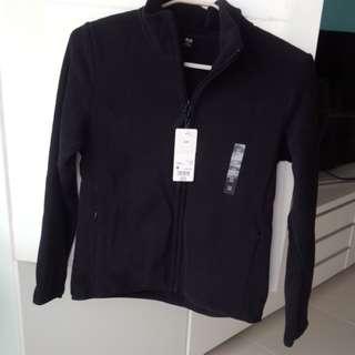 Uniqlo women's long sleeve full zip fleece jacket