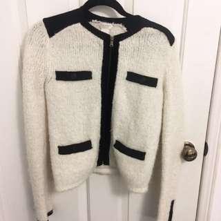 Club Monaco Italian Wool Blazer Coat